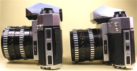 left: serial camera, rigth: Prototype