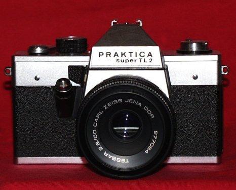 Praktica super tl mm slr camera in very good condition