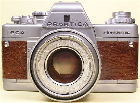 Praktica bca display camera